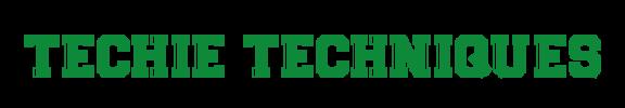 Techie Techniques Logo
